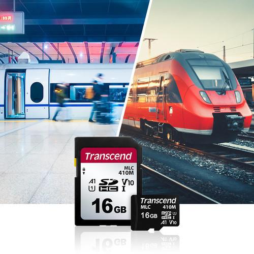Transcend представляет промышленные карты памяти SD/microSD с поддержкой A1