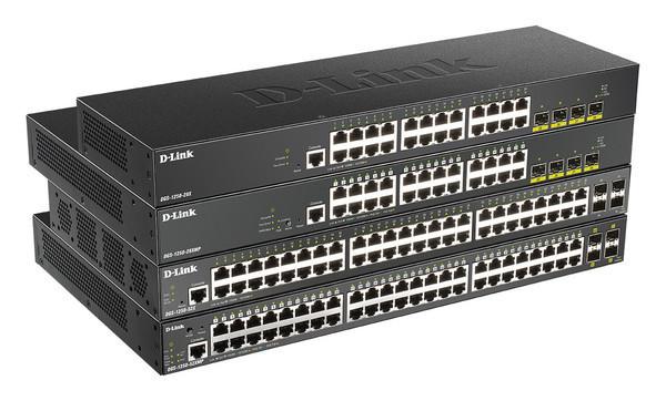 D-Link DGS-1250 - новая линейка гигабитных smart-коммутаторов
