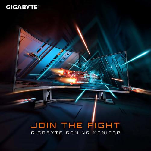 GIGABYTE анонсирует новое семейство игровых мониторов
