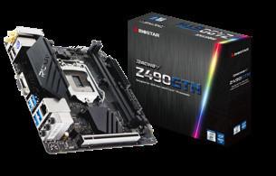 BIOSTAR анонсировала новые материнские платы RACING Z490GTA и RACING Z490GTN