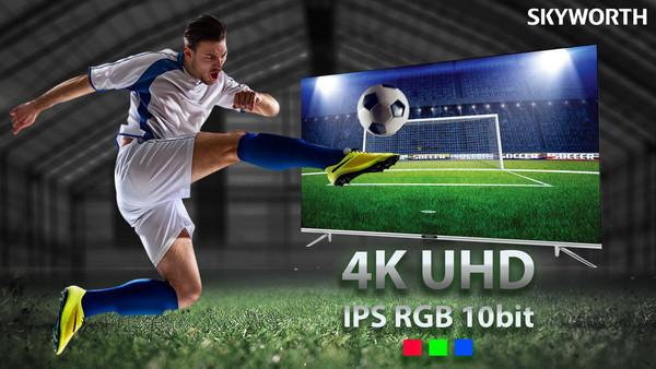 Skyworth представляет 43-дюймовый телевизор 4К UHD Q20 AIoT Dolby Vision