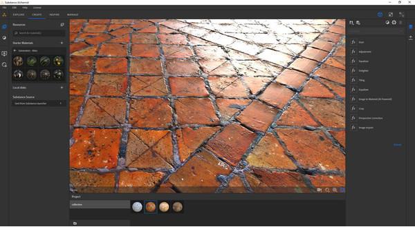 NVIDIA RTX GPU ускоряют новые алгоритмы ИИ в Adobe Substance Alchemist и Blender