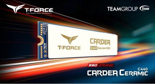 TEAMGROUP показала твердотельный накопитель T-FORCE CARDEA Ceramic C440