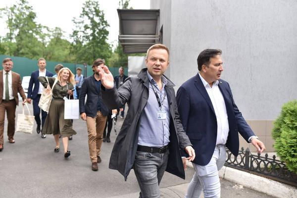Саакашвили в GigaCenter предложил отдать госуслуги на аутсорс бизнесу