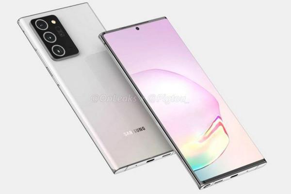 Цена смартфонов Samsung Galaxy Note 20 составит от 999 евро
