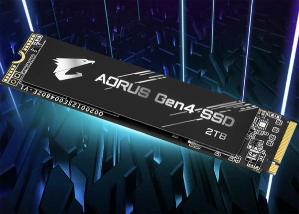 Вместимость быстрых накопителей GIGABYTE Aorus Gen4 SSD достигает 2 Тбайт