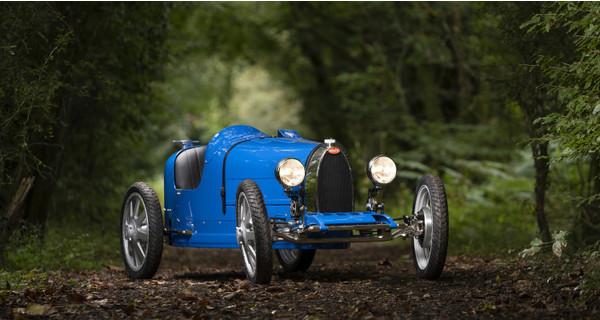 Bugatti выпустила игрушечный электрокар Baby II по цене $35 тысяч