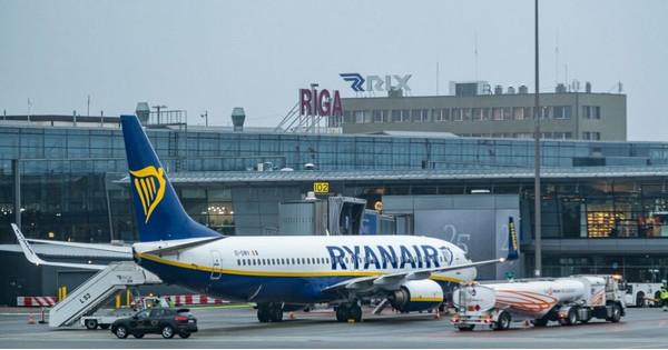 Ryanair возобновляет международные полеты из аэропорта в Риге