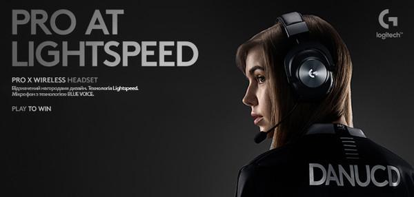 Logitech G анонсировала выпуск беспроводной гарнитуры PRO X LIGHTSPEED