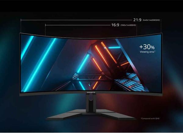 GIGABYTE анонсирует 34-дюйм Ultra-wide игровой монитор