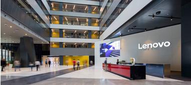Lenovo сообщает о высокой эффективности и уверенном росте в первом финансовом кв