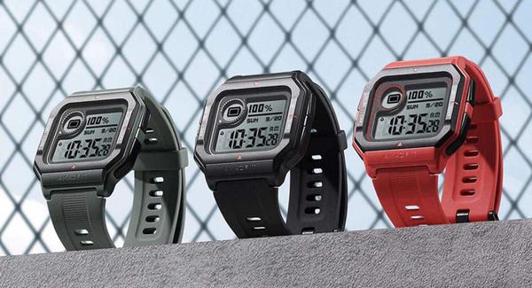 Смарт-часы Huami Amazfit Neo в стиле Casio оснащены датчиком ЧСС