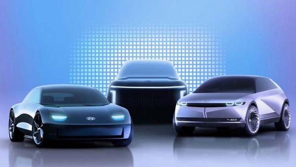 Hyundai представила бренд по выпуску электромобилей: три модели на подходе