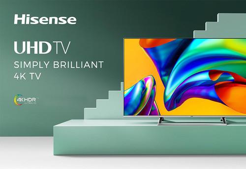Продажи телевизоров Hisense в Украине выросли до 7%