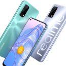 Представлен доступный 5G-смартфон Realme V5 5G с батареей на 5000 мА·ч и продвин