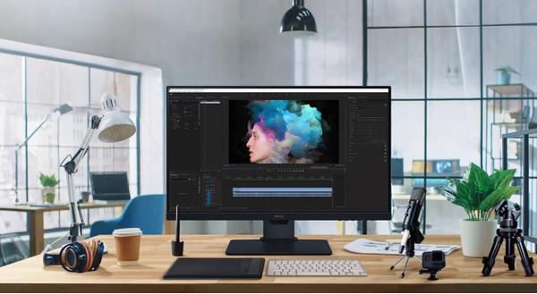 Новый 27 дюймовый профессиональный монитор для дизайнеров BenQ PD2705Q