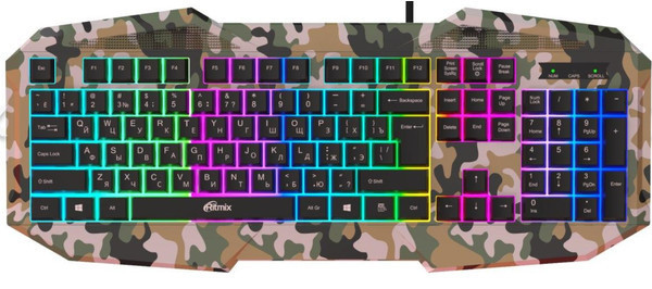RKB-550 и ROM-363 - новые клавиатура и мышь Ritmix