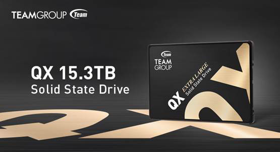 TEAMGROUP выпустила крупнейший SSD-накопитель QX ёмкостью 15,3 ТБ