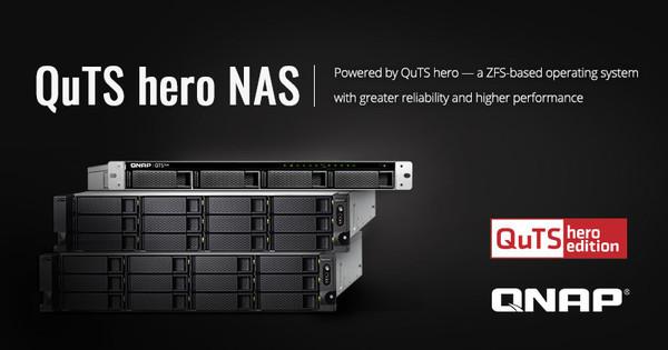 Новая операционная система QuTS hero на основе ZFS и специальные модели NAS