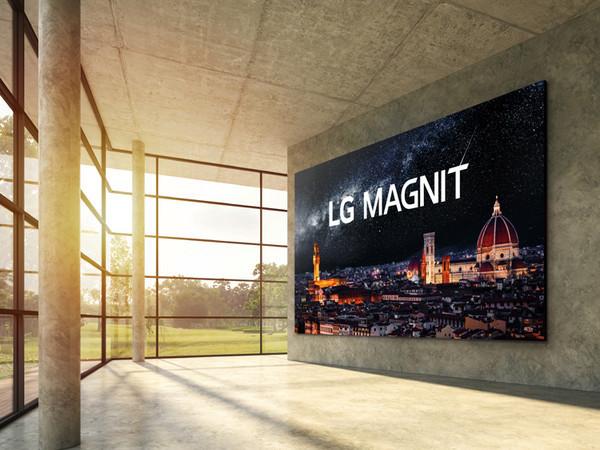 LG представила гигантский 4-метровый ТВ Magnit с технологией MicroLED