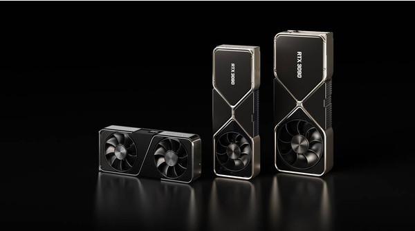 Графические процессоры NVIDIA GeForce RTX 30ХХ демонстрируют самый большой рост