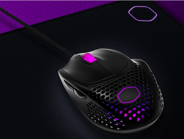 Игровая мышь Cooler Master MM720 весит менее 50 граммов