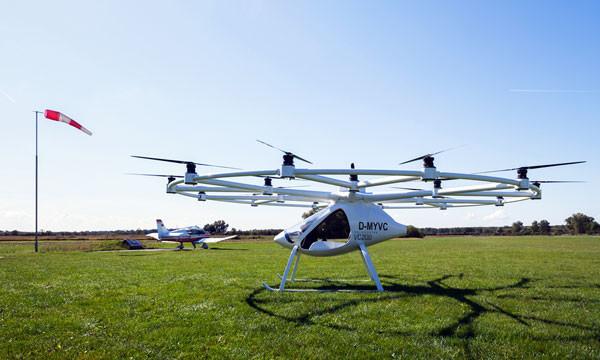 Volocopter VC200 - первый легкий в управлении вертолет