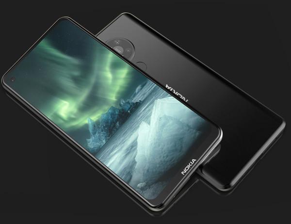 5G-смартфон Nokia 7.3 с четверной камерой красуется на новых рендерах