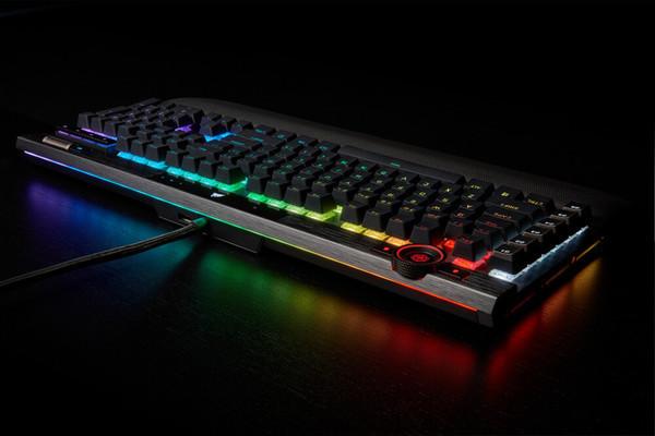 Механическая клавиатура Corsair K100 RGB за $230 снабжена колесом управления