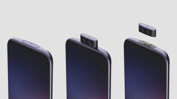 Vivo показала концепт смартфона IFEA со съёмной селфи-камерой