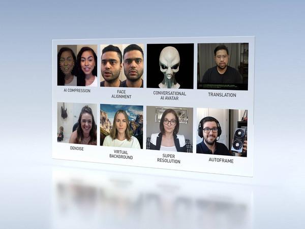 Осенняя GTC 2020 - платформа NVIDIA Maxine для видеоконференций