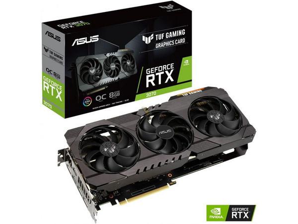 ASUS представила свои варианты GeForce RTX 3070