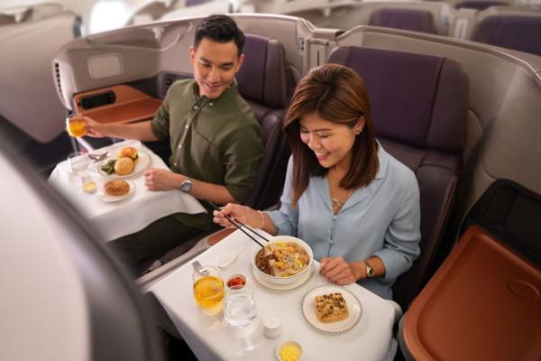 Singapore Airlines запустит стационарный ресторан на самолете A380