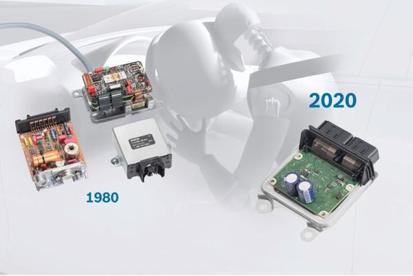 40 лет электронному блоку управления подушкой безопасности Bosch
