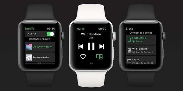 Apple Watch могут воспроизводить музыку в Spotify без подключения к iPhone