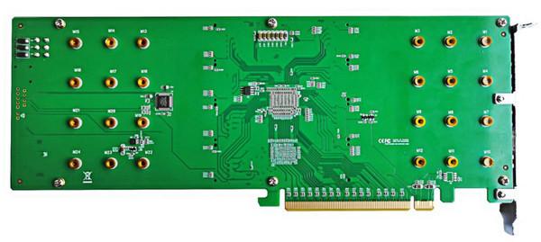 Карта расширения HighPoint SSD7140 позволит объединить восемь NVMe M.2 SSD