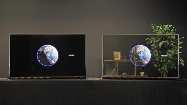 Panasonic начинает продажи прозрачного OLED-дисплея в декабре 2020 года