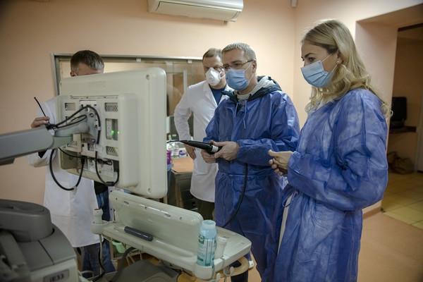 Абоненты Киевстар помогли приобрести медицинское оборудование для Амосова