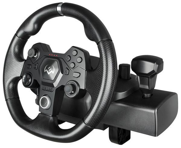 Игровой руль SVEN GC-W900 — виртуальные гонки с реальными эмоциями