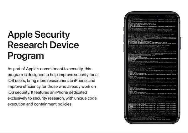 Apple начала поставки iPhone с официальным джейлбрейком для исследователей