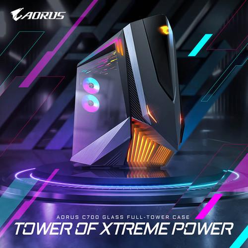 GIGABYTE представляет новый корпус башенного типа AORUS C700 GLASS