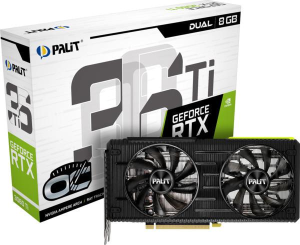 Palit представляет GeForce RTX 3060 Ti серий GamingPro и Dual