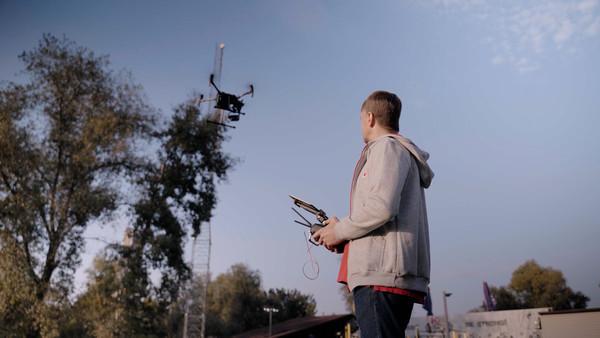 Vodafone строит сеть LTE-900 с помощью дронов
