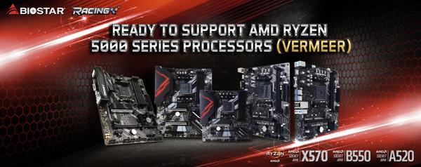 Платы Biostar на AMD B550 и X570 получили поддержку Smart Access Memory