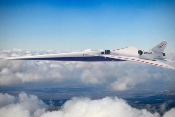 Совместная разработка гражданского сверхзвукового самолета X-59 от NASA