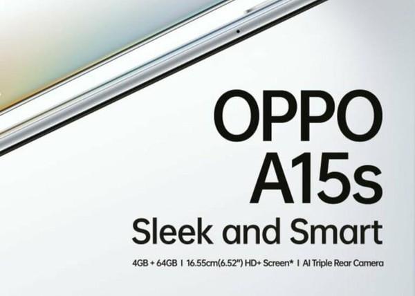 Стали известны некоторые характеристики недорогого смартфона OPPO A15s