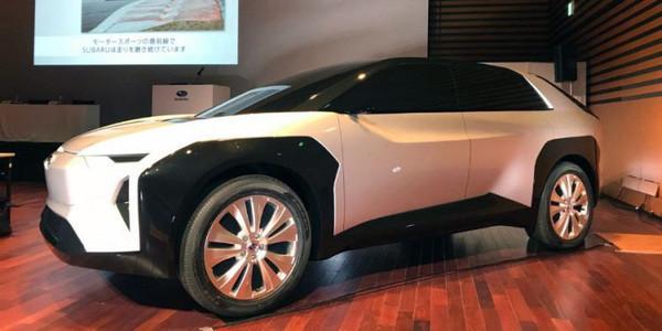 Subaru обещает представить свой первый электромобиль до конца пятилетки