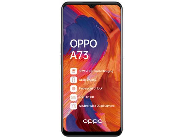 Смартфон OPPO A73 представлен официально в Украине