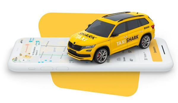 Shark Taxi - удобное приложение для вызова такси с радио и мультиками