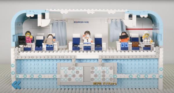 Korean Air использует Lego, чтобы объяснить, как работают воздушные фильтры